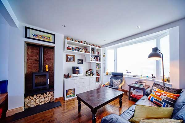 British Gypsum Gyproc Habito in a living space