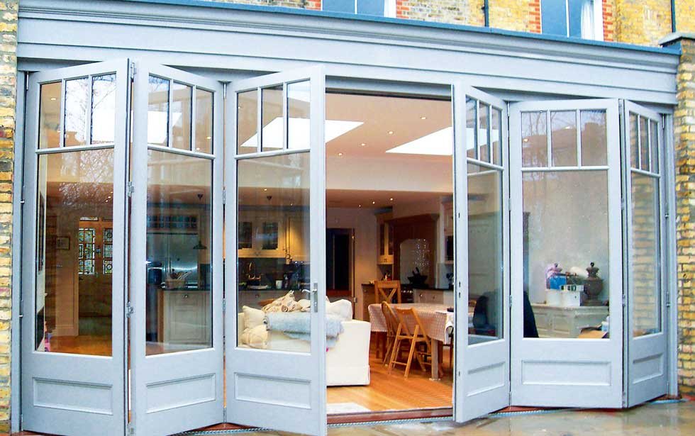 hardwood doors from Town & Country - Bi-Fold Doors For Old Homes Homebuilding & Renovating