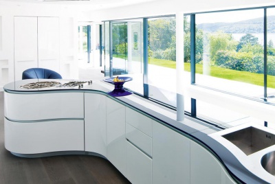 A modern kitchen