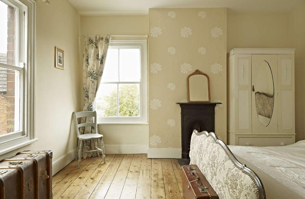 Restored Farmhouse Bedroom