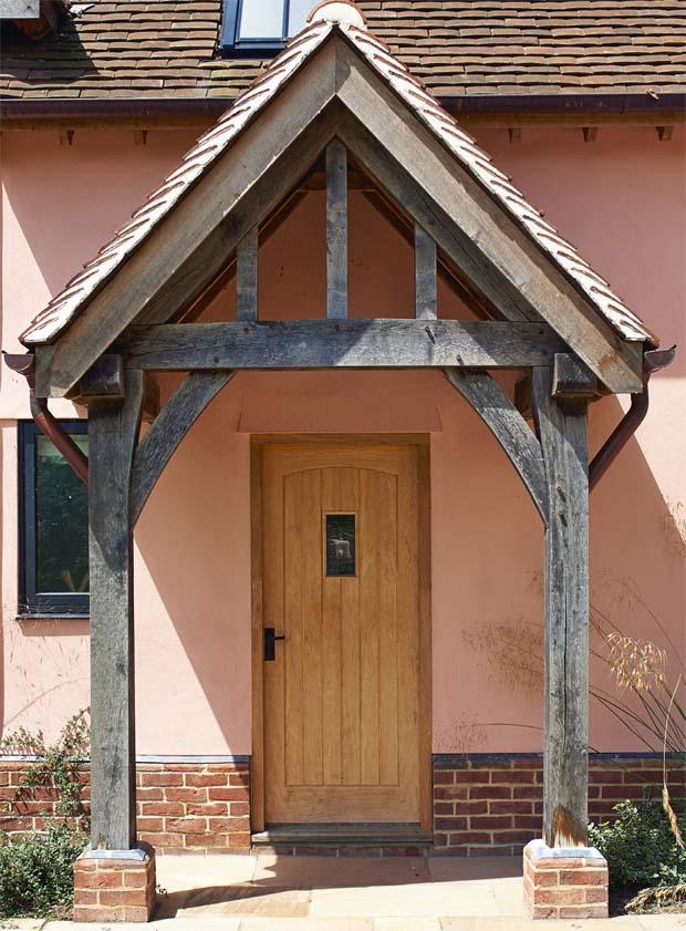 A Classic Oak Frame Porch. U201c
