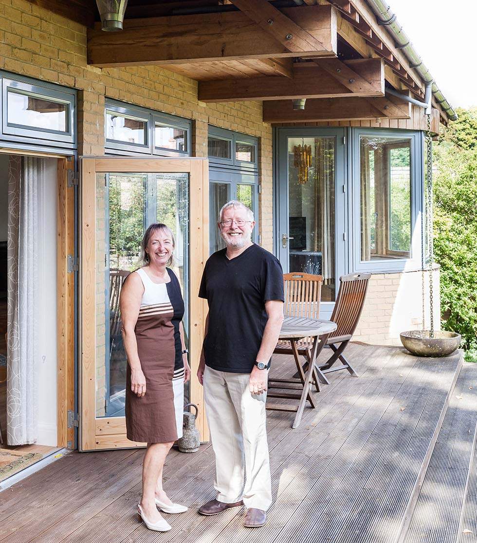 Homebuilding Renovating: A Colonial Pavilion Style Home