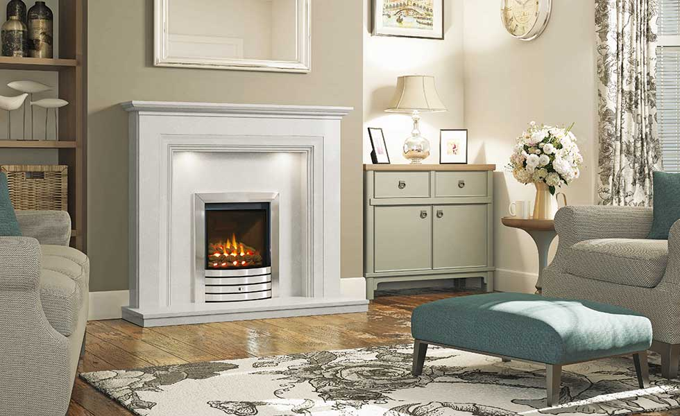Elgin & Hall's Odella inglenook surround