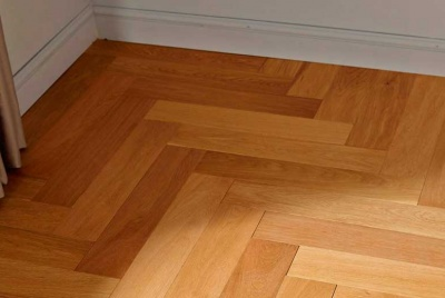 Engineered wood floor