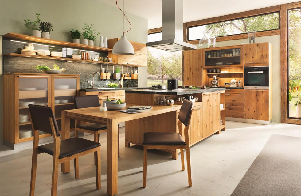This kitchen is part of the Loft range by Team 7 (available at Wharfside)