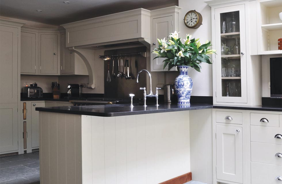The Suffolk kitchen, hand painted, from Kit Stone costs from £10,000
