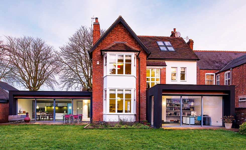 Delightful Two Modern Extensions Increase The Living Space In This Victorian Home