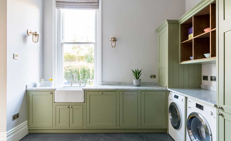 laundry room furniture. Utility Room With Fitted Units Laundry Furniture C
