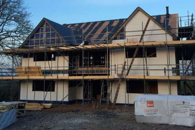 A 200k oak frame self build homebuilding renovating for Build a house for 200k