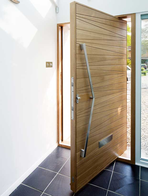 Pivot doors by Urban Front & Pivot Doors | Homebuilding u0026 Renovating