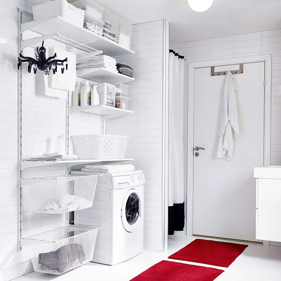 IKEA Utility Room