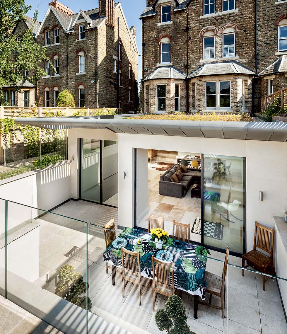 Victorian Terrace extension by Riach Architects
