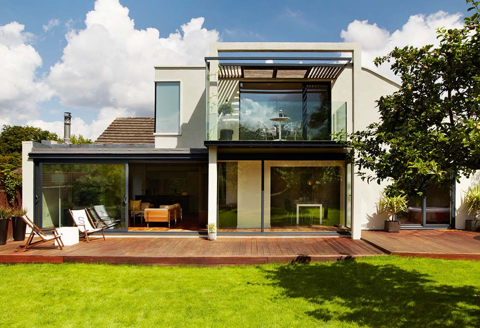 Two Storey Bungalow Extension By Matt Maisuria Architects