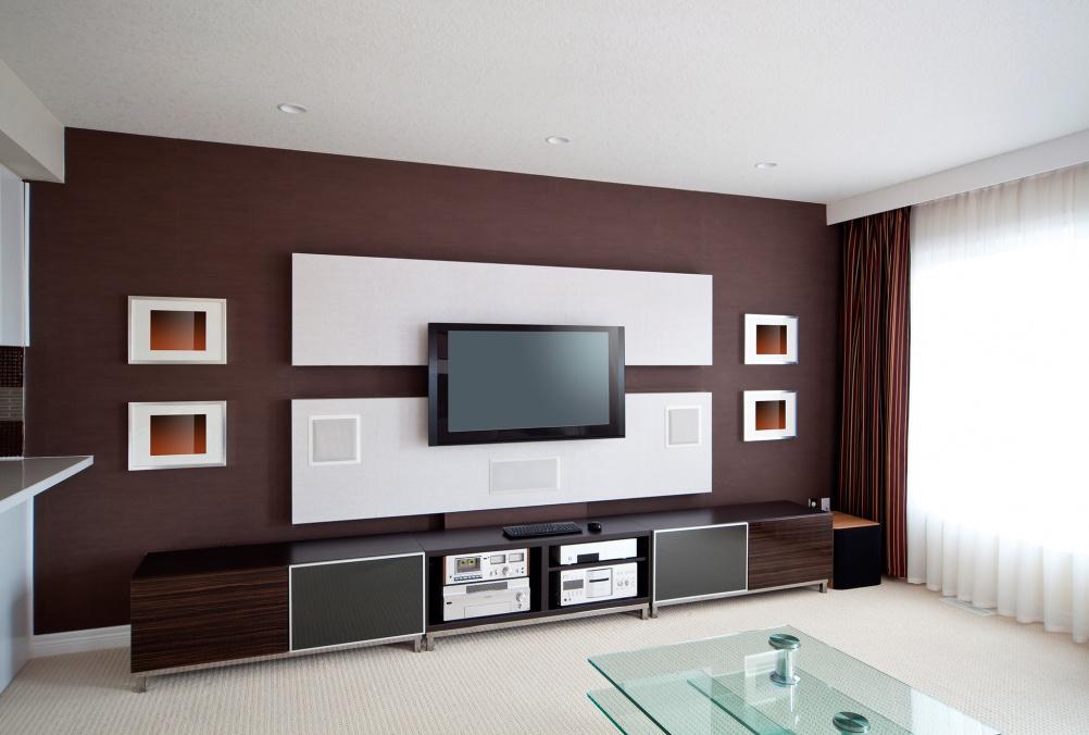 home audio and cinema room