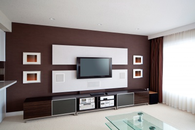 home audio and cinema room