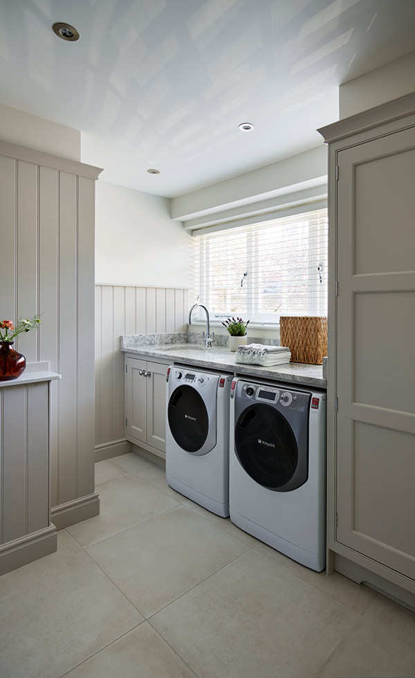 utility room with appliances