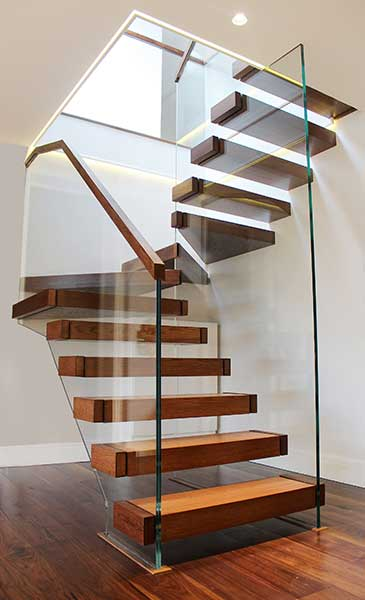 Floating Staircase By Flight Design