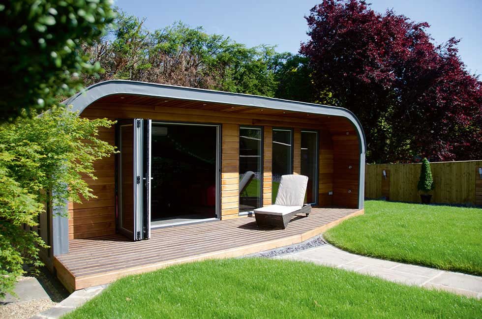 Creating a garden room or outbuilding for House plans with garden room