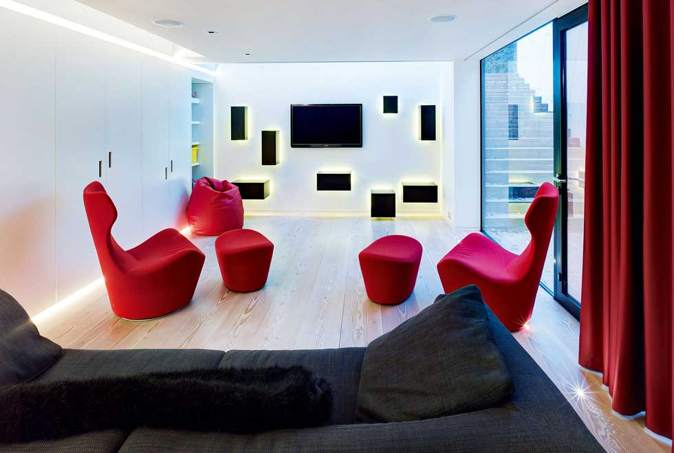 Modern Home Cinema Room