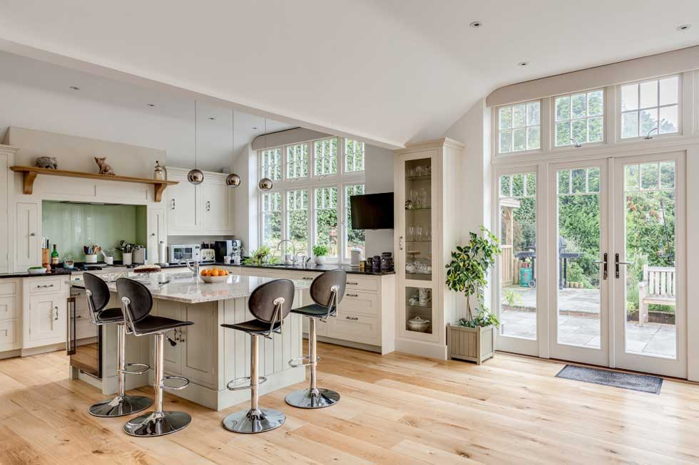 Kitchen designed by Harvey Jones