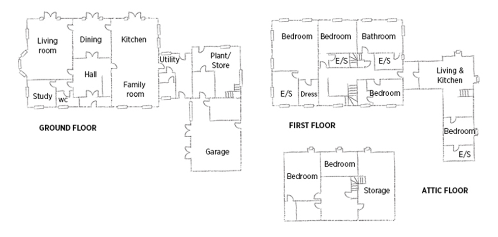 Georgian style self build floorplan