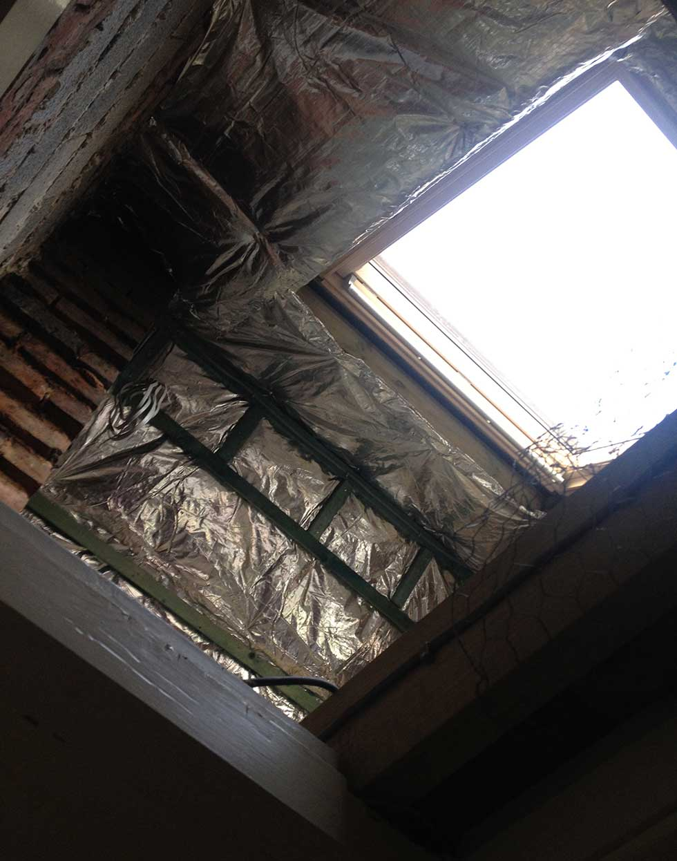 Slimline loft insulation