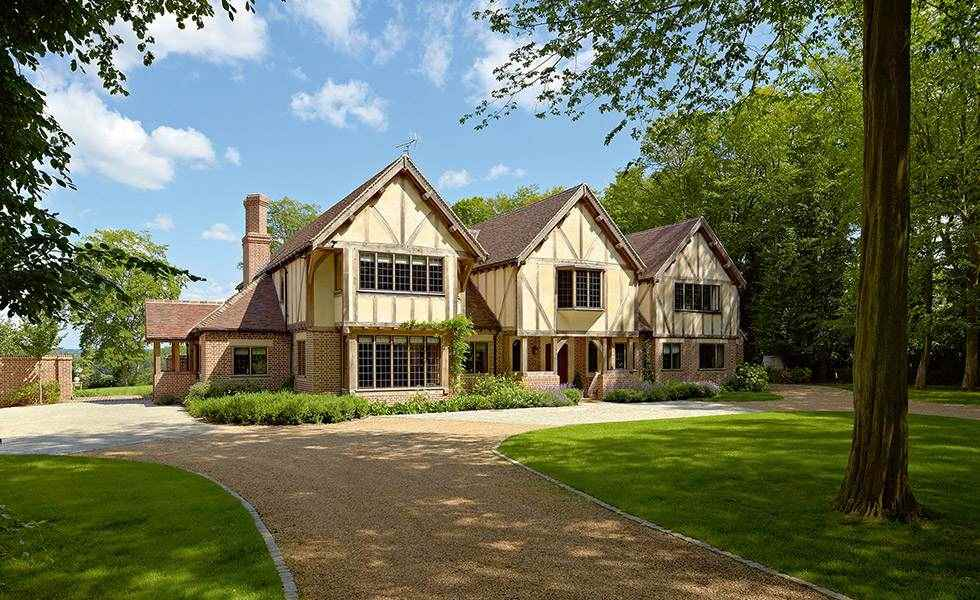oak frame luxury self build with £1.5m build cost
