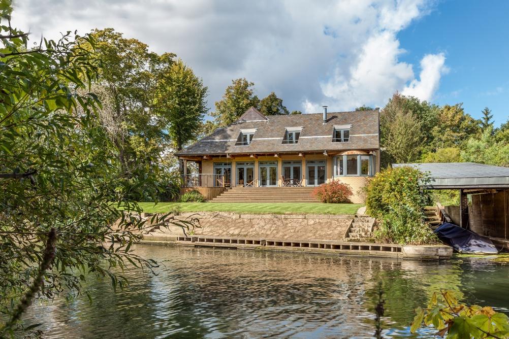 Self-designed Oak frame house