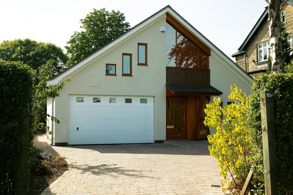 Oak frame house by WSM Architects