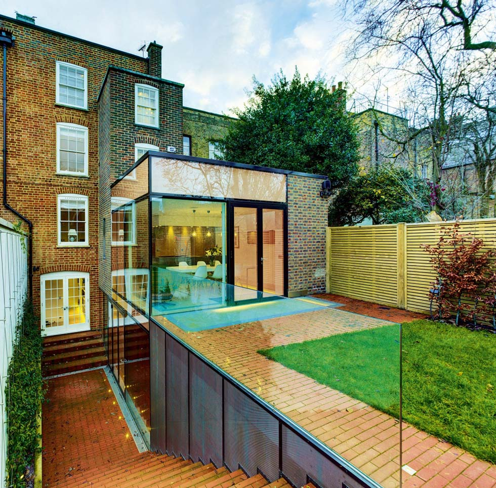 A Rear Extension With A Basement Level