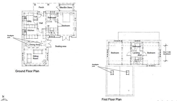 Floorplans for a self build oak frame house