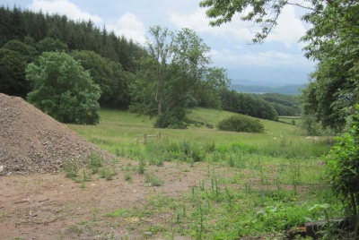 Site of an oak frame home in the Welsh Marches