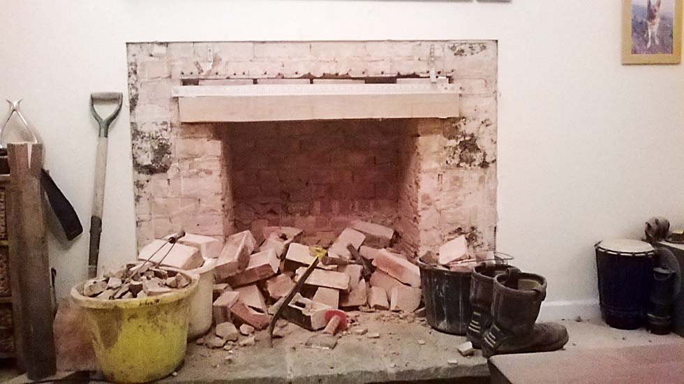 Reinstating Old Fireplaces Homebuilding Renovating