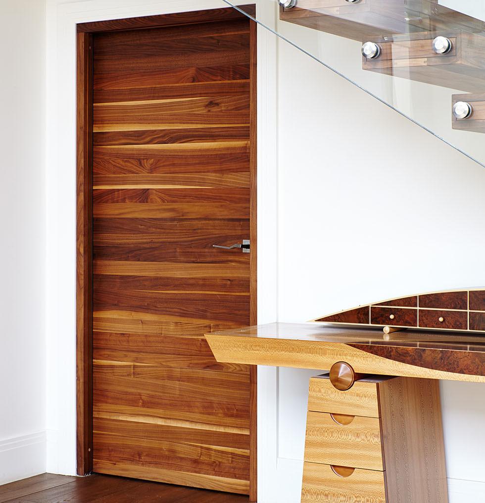walnut internal door