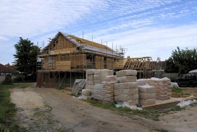 hempcrete ready timber frame
