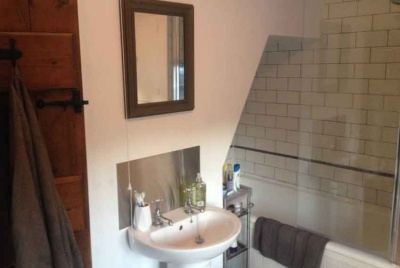 bathroom renovation by Homebuilding web editor and part time renovator Lindsey