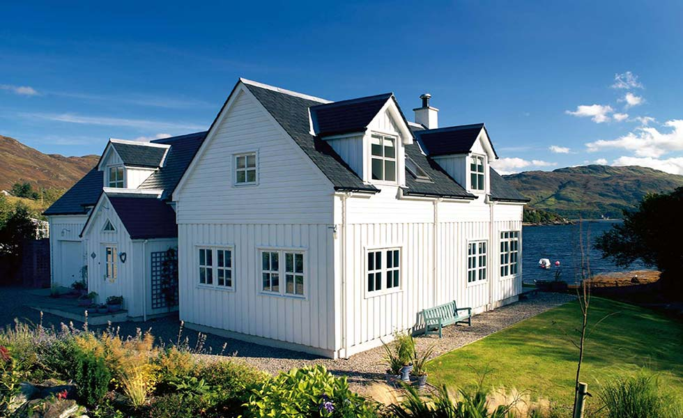Traditional scottish house designs 28 images for Cost to build a house in little rock