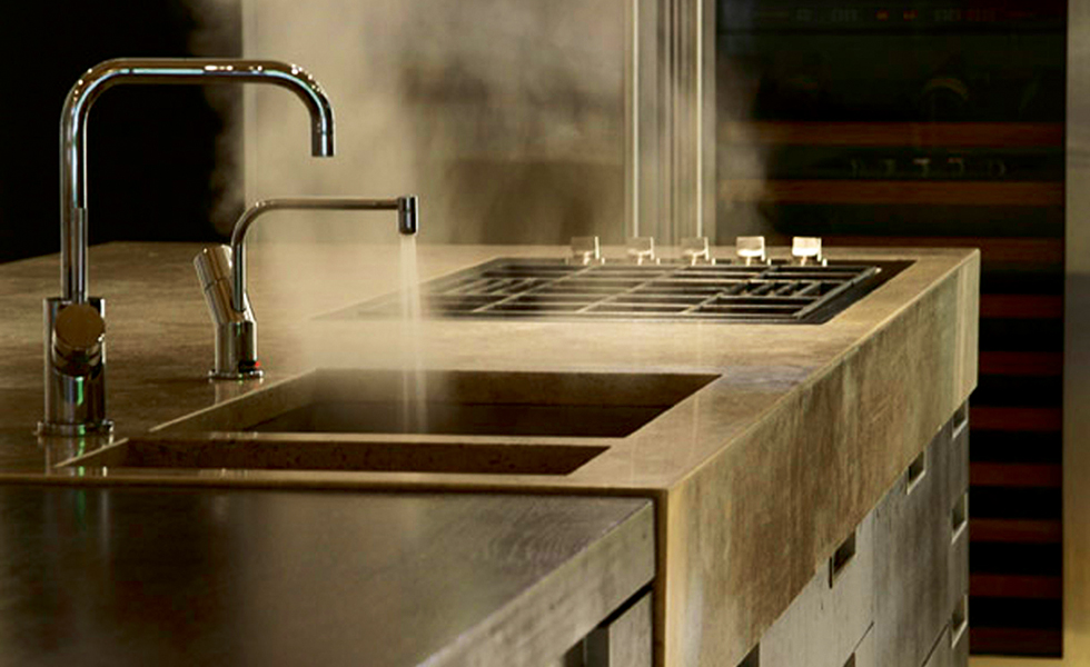 boiling water tap by Quooker