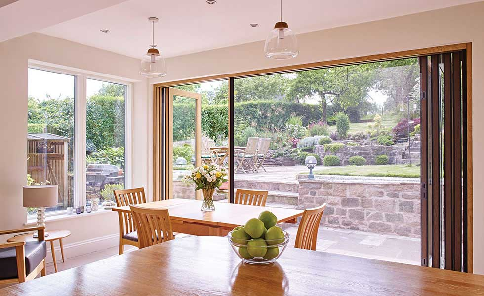 Bi-fold doors from Centor & Patio Doors: Bi-fold Sliding or French? | Homebuilding \u0026 Renovating