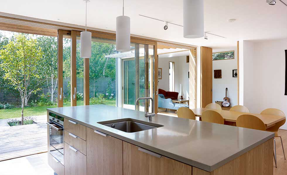 French Doors In Small Kitchen