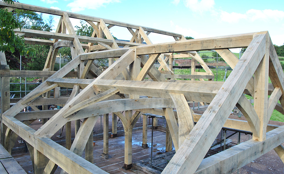 oak-trusses-close-up-self-build