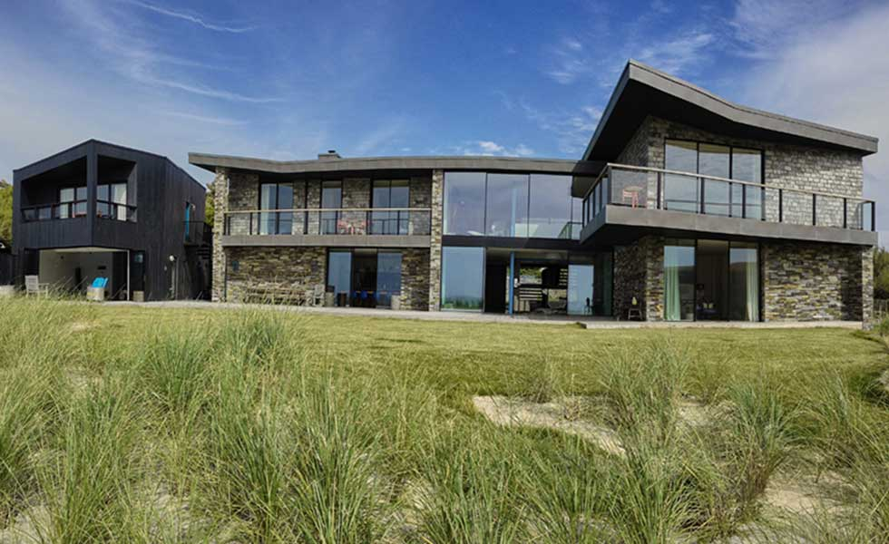 cornish contemporary self build by the sea