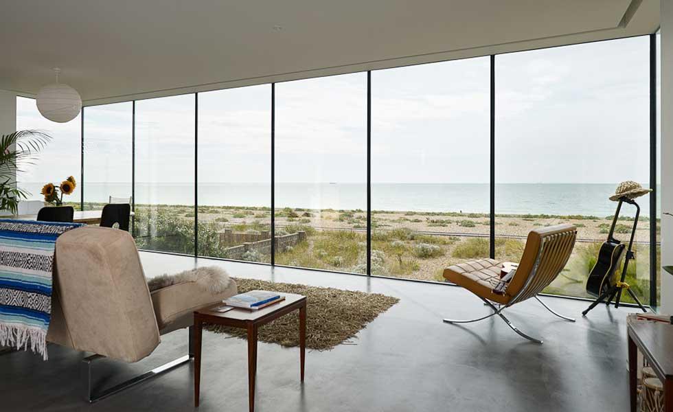 contemporary coastal self build home in Sussex