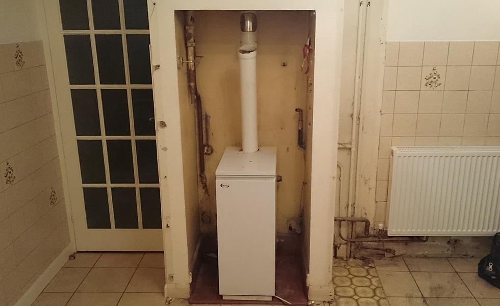 boiler in old kitchen