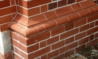 Bulmer's London Bed Eocene clays fire to a range of colours from mellow red to deep purple, and are used across the country where red brick occurs. They do not use dyes or additives during their brickmaking process, but rely on generations of knowledge and experience to place bricks in our coal fired kilns to produce the required variations in colour.
