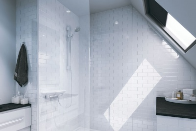multipanel shower