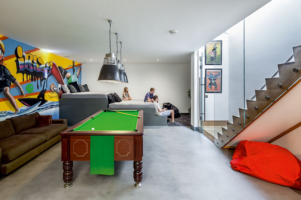 Victorian basement extension