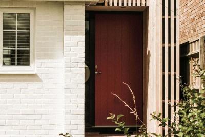 Statement front door