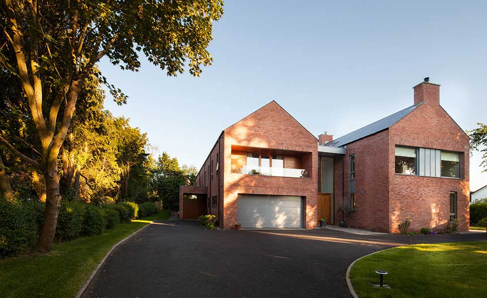 Home in NI built with Wienerberger's Mellowed Red Sovereign Stock