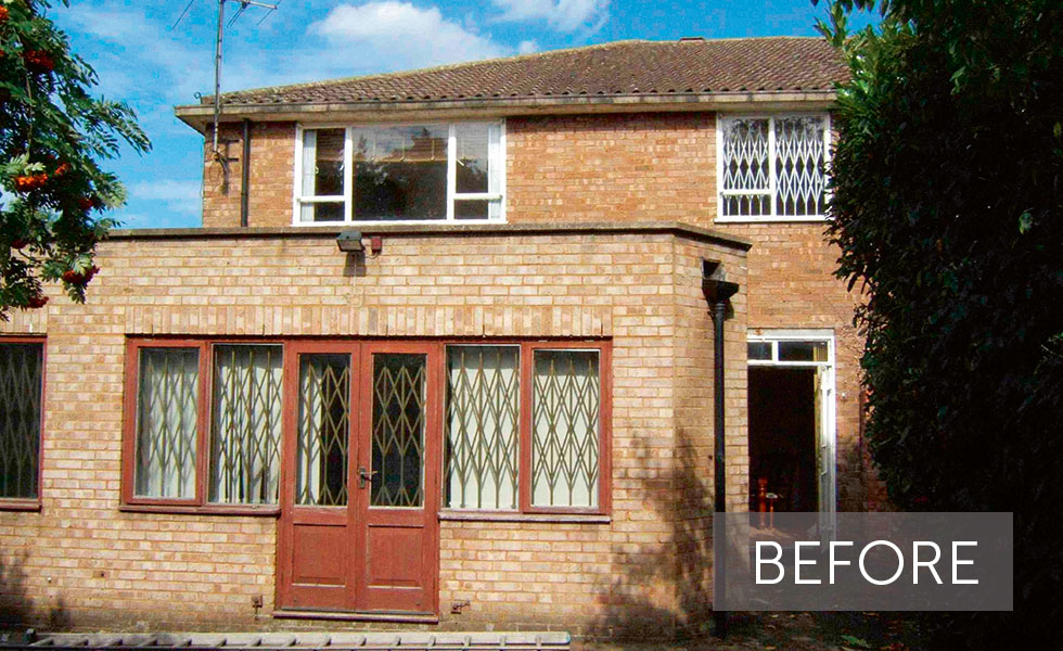 Wooden Cladding Before And After ~ Dramatic external makeovers homebuilding renovating